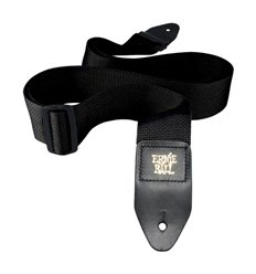 Ernie Ball 4037 Black Polypro Guitar Strap