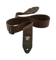 Ernie Ball 4052 Brown Polypro Guitar Strap