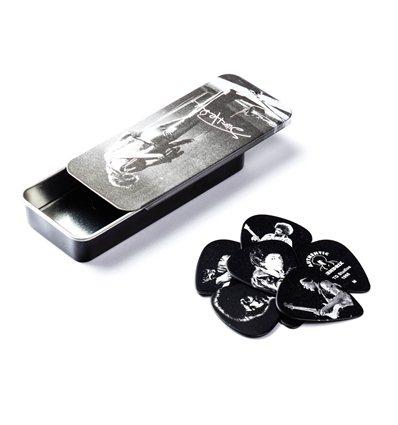 Jimi Hendrix™ Pick Tin Silver Portrait II