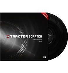 Native Instruments Traktor Scratch Control Vinyl - Black