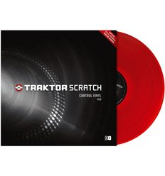 Native Instruments Traktor Scratch Control Vinyl - Red