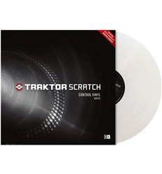 Native Instruments Traktor Scratch Control Vinyl - White