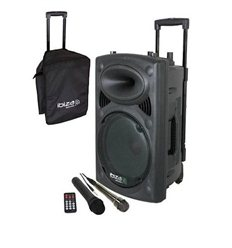 Ibiza Sound PORT10UHF-BT mobilni aktivni zvučnik