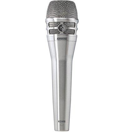 Shure KSM8/N Dualdyne brushed nickel dinamički vokalni mikrofon
