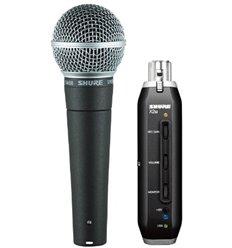 Shure SM58-X2u dinamički vokalni mikrofon za računalo