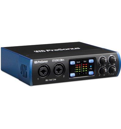 PreSonus Studio 26c USB-C audio inteface