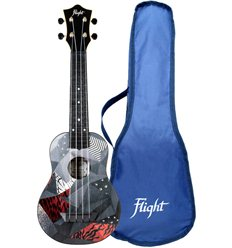 Flight TUS21P Black Forest Travel Soprano Ukulele