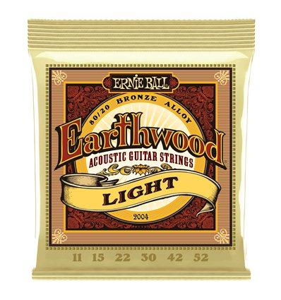 Ernie Ball 2004 Earthwood 80/20 Bronze Light 11-52