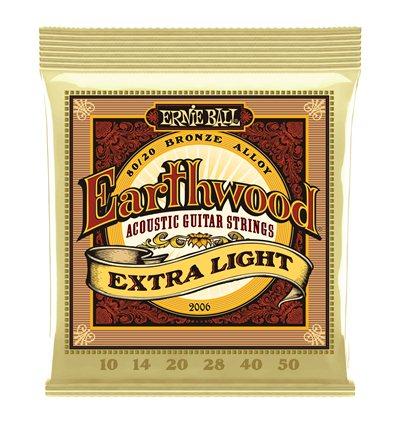 Ernie Ball 2006 Earthwood 80/20 Bronze Extra Light 10-50