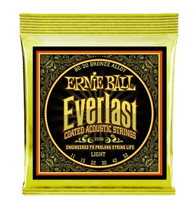 Ernie Ball 2558 Everlast 80/20 Bronze Light 11-52