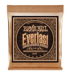Ernie Ball 2548 Everlast Light Coated Phosphor Bronze 11-52