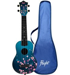 Flight TUSL32 SAKURA Bernadette Signature Travel Soprano Ukulele