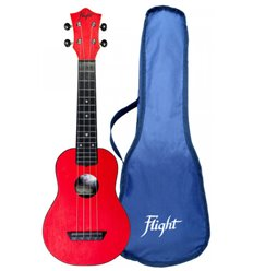 Flight TUS35RD Travel Ukulele Sopran Red