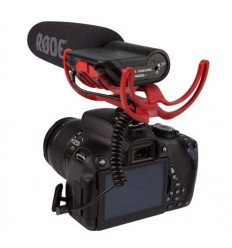 RODE VideoMic + Rycote Lyre suspension