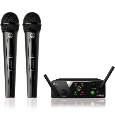AKG WMS40 Mini2 Vocal Set Dual US45A/C-SMPS