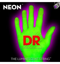 DR NEON HiDef Green SuperStrings NGE-10 Medium