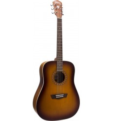 Washburn WD7S Matte Antique Tobacco Sunburst