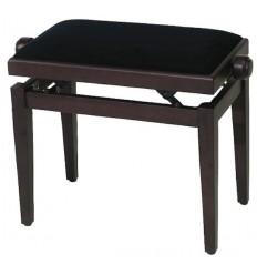 GEWA pure Piano bench FX Rosewood matt Black seat klupica za klavir
