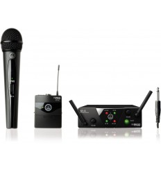 AKG WMS40 Mini2 Vocal / Instrumental Set Dual US45A/C