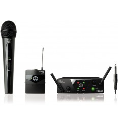 AKG WMS40 Mini2 Vocal / Instrumental Set Dual ISM2/3-SMPS