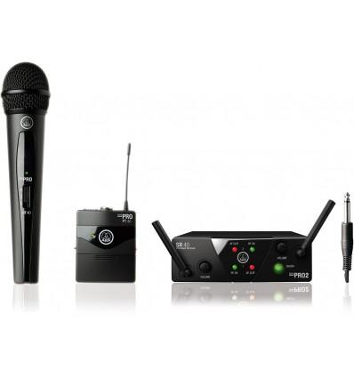 AKG WMS40 Mini2 Vocal / Instrumental Set Dual ISM2/3-SMPS