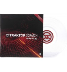 Native Instruments Traktor Scratch Control Vinyl MK2 - Clear
