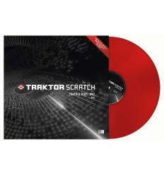 Native Instruments Traktor Scratch Control Vinyl MK2 - Red