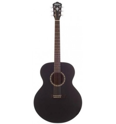 Washburn WJ7S Black Matte akustična gitara