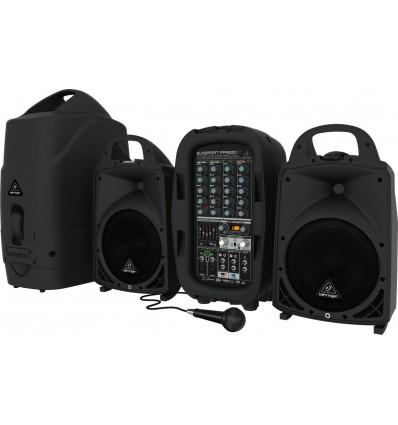 Behringer Europort PPA500BT aktivni zvučnici s miksetom