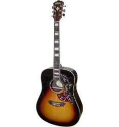 Washburn WD220SE Antique Tobacco Sunburst