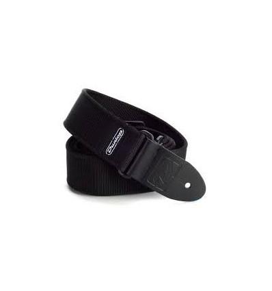 DUNLOP D38-09BK STRAP SOLID BLACK