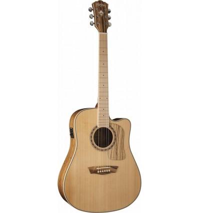 Washburn WCSD30SCE Natural elektroakustična gitara