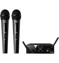 AKG WMS40 Mini2 Vocal Set Dual ISM2/3-SMPS