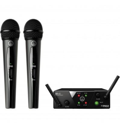 AKG WMS40 Mini2 Vocal Set Dual ISM2/3-SMPS