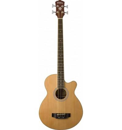 Washburn AB5 Natural elektro-akustična bass gitara