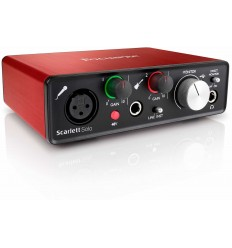 Focusrite Scarlett Solo (2nd Generation)