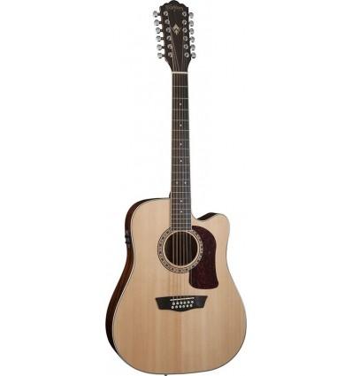 Washburn HD10SCE12 Natural 12-žičana elektro-akustična gitara