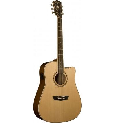 Washburn WD10SCELH Natural (Left Hand) elektro-akustična gitara