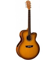 Washburn WJ7SCE Antique Tobacco Sunburst elektro-akustična gitara