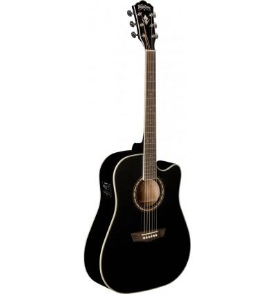 Washburn WD10SCE Black elektro-akustična gitara