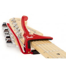 Fender Quick Change Guitar Capo Red