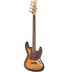 Jay Turser JTB-402 Tobacco Sunburst bas gitara