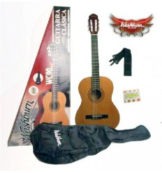 Washburn WC90 Classical Guitar Pack