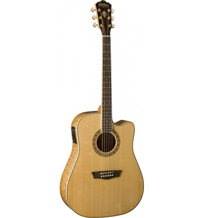 Washburn WD30SCE Natural elektro-akustična gitara