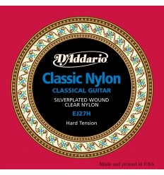 D'Addario EJ27H Classic Nylon, Hard Tension