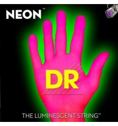 DR NEON HiDef Pink Bass SuperStrings NPB-45 Medium