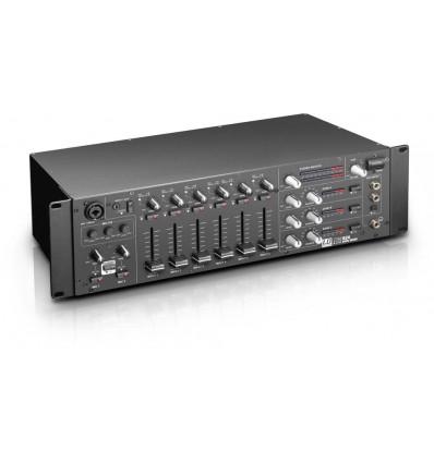 "LD Systems ZONE 624 19"" 4-zonski mikser 3U"