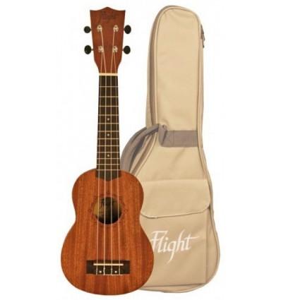 Flight NUC310 Soprano ukulele s torbom