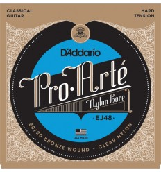 D'Addario EJ48 Pro-Arte Hard Tension