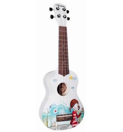 Veston KUS25 WH ukulele